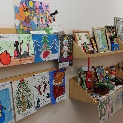 Творческая выставка «Зимние фантазии»